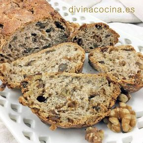 Pan de higos y nueces < Divina Cocina