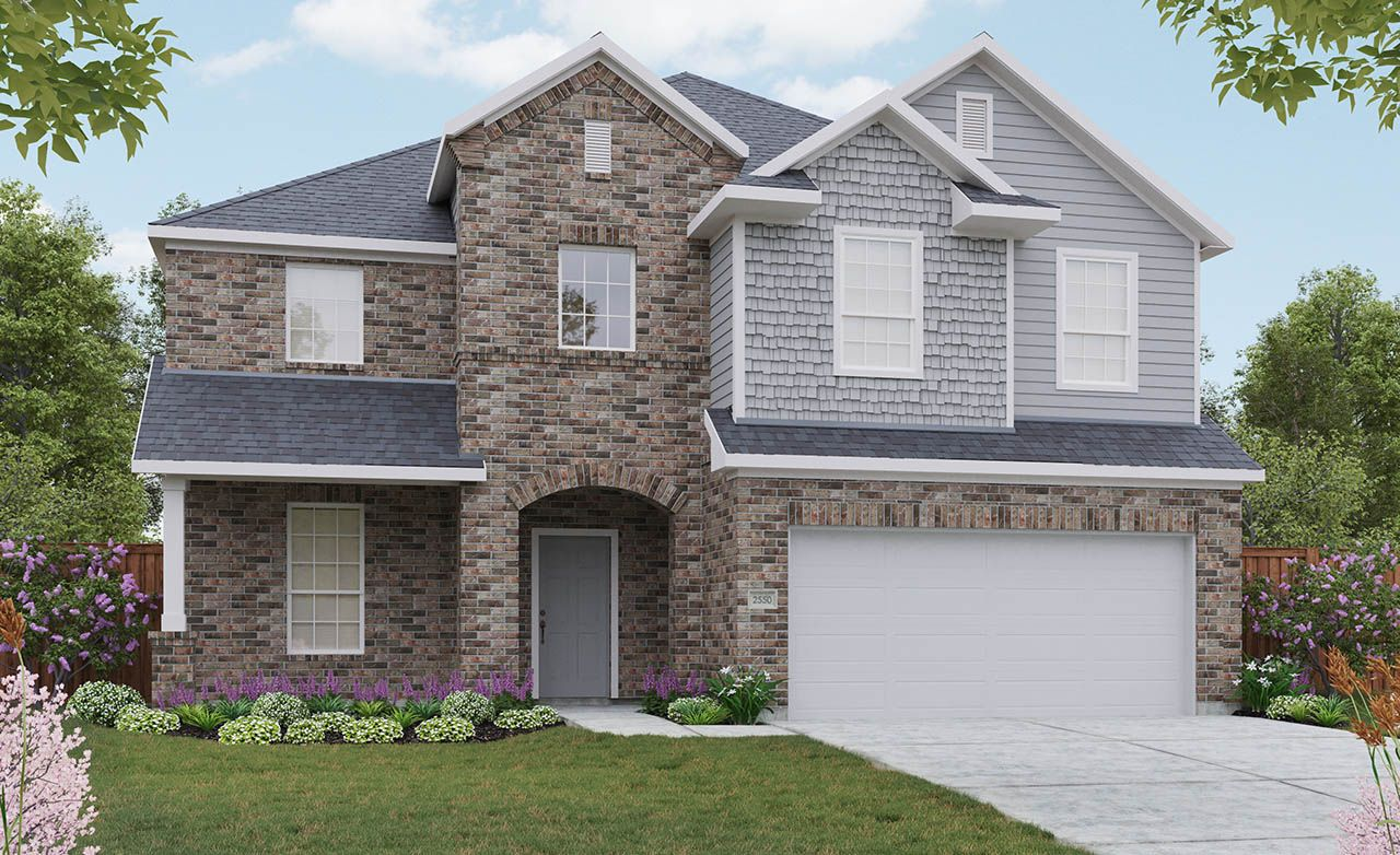 Majestic Home Plan by Gehan Homes in Clements Ranch – Majestic Homes Floor Plans