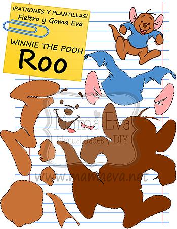 Plantillas Películas Disney Winnie The Pooh   Винни пух   Pinterest ...