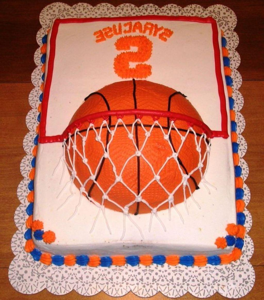 Basketball cake basketball cake basketball birthday