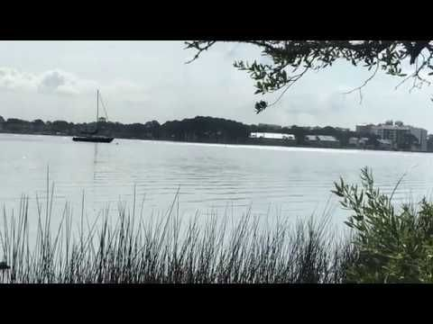 A Bicycle Ride Through The Campground Of St Andrews State Park In Panama City Beach Fl