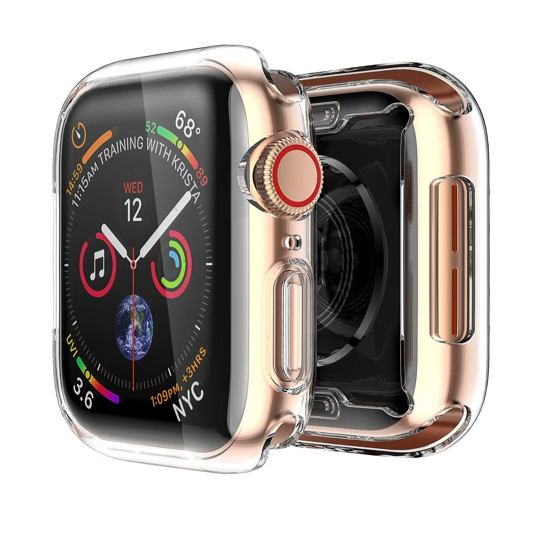 Smiling Apple Watch 4 Funda Transparente Con Buit En Tpu Protector De Pantalla 1 732 In All Aroun Apple Watch Case Apple Watch Apple Watch Series
