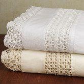 Romance Crochet Sheet Set