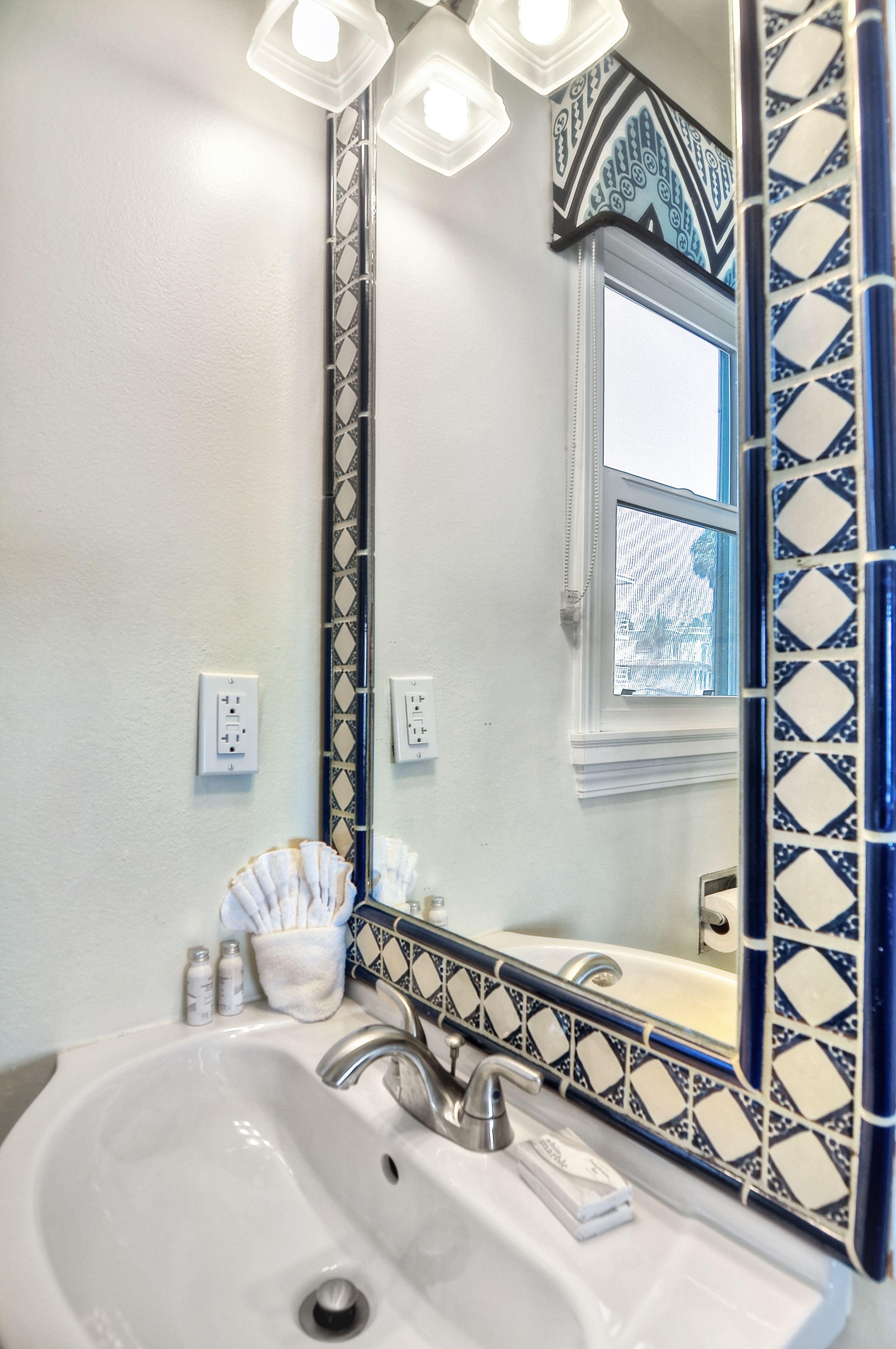 Field Diamond Talavera Mexican Tile   Guest Bathroom   Pinterest ...