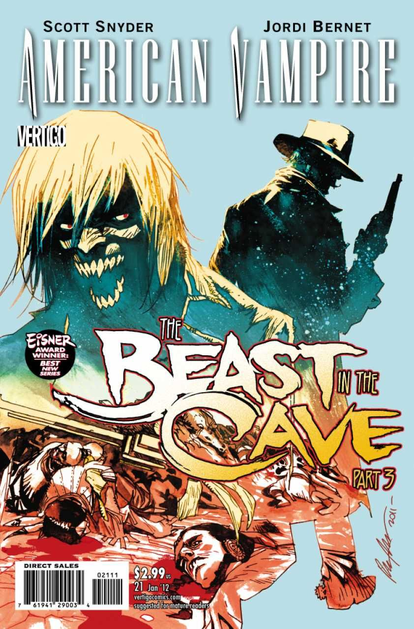 American Vampire #21 - The Beast in the Cave, Part 3 (Issue)