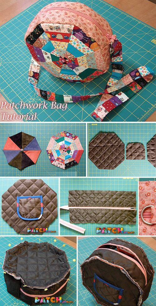 Patchwork Bag Tutorial