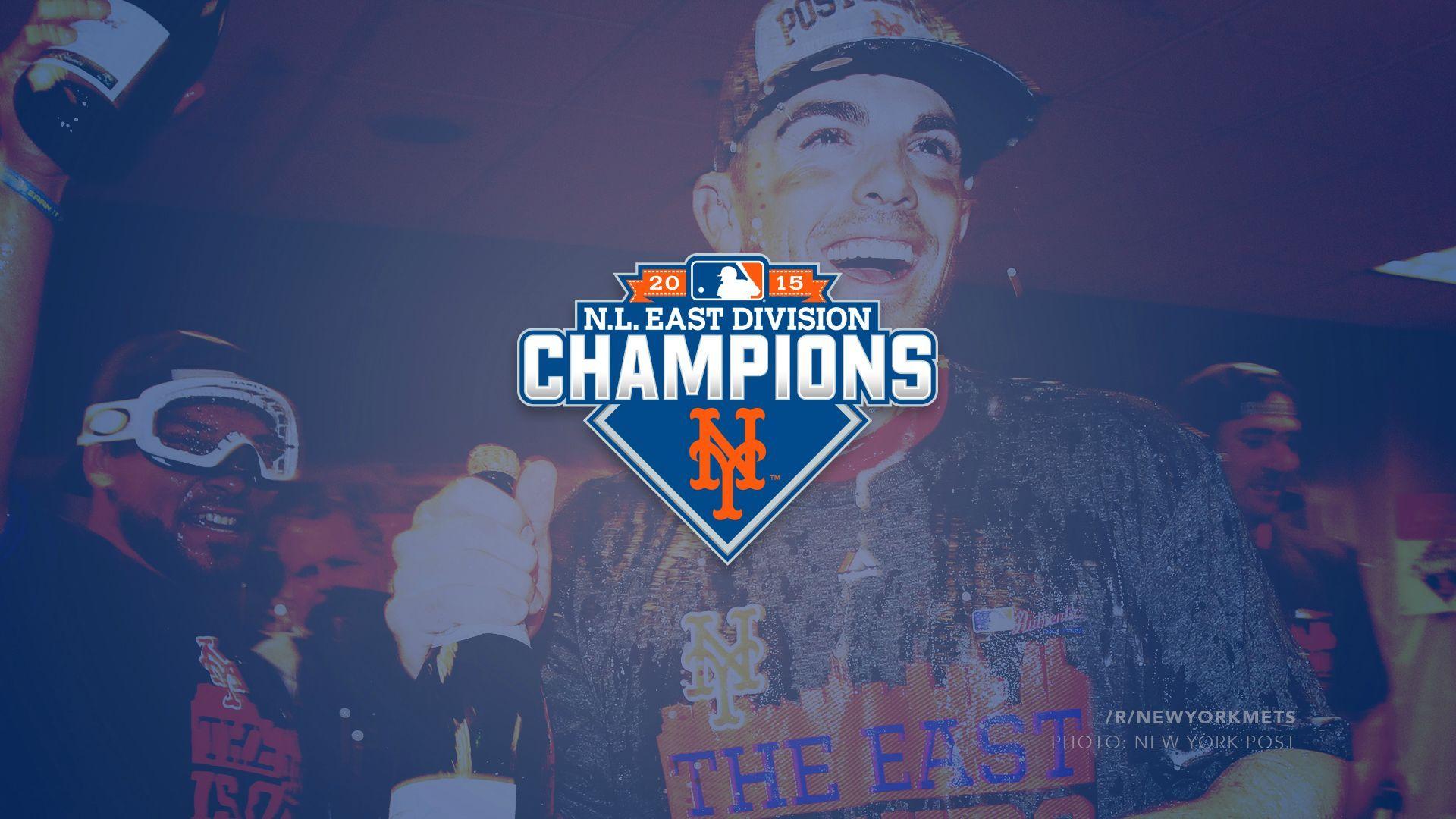 New York Mets 2015 NL East Champs Wallpaper