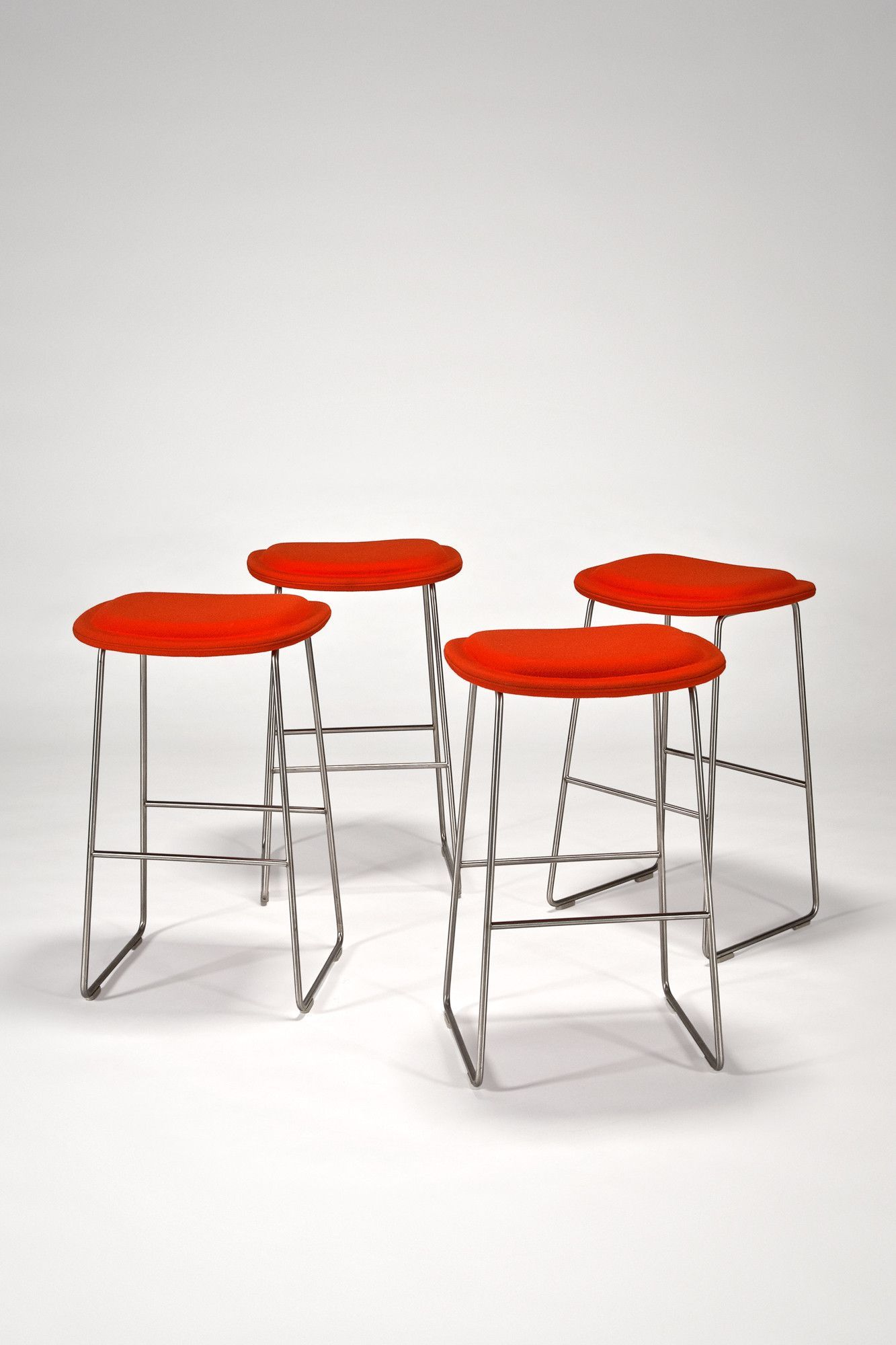 Wondrous Hi Pad Stools Set Of 4 By Jasper Morrison For Cappellini Squirreltailoven Fun Painted Chair Ideas Images Squirreltailovenorg