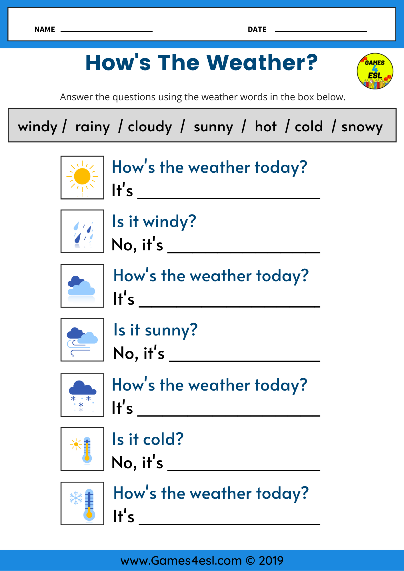 How S The Weather