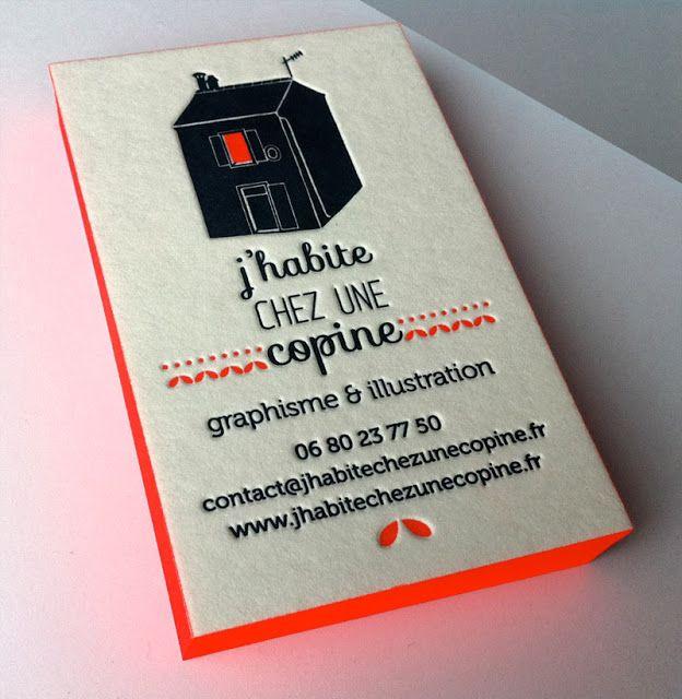 Cartes De Visite Cartons Graphisme Carte Design