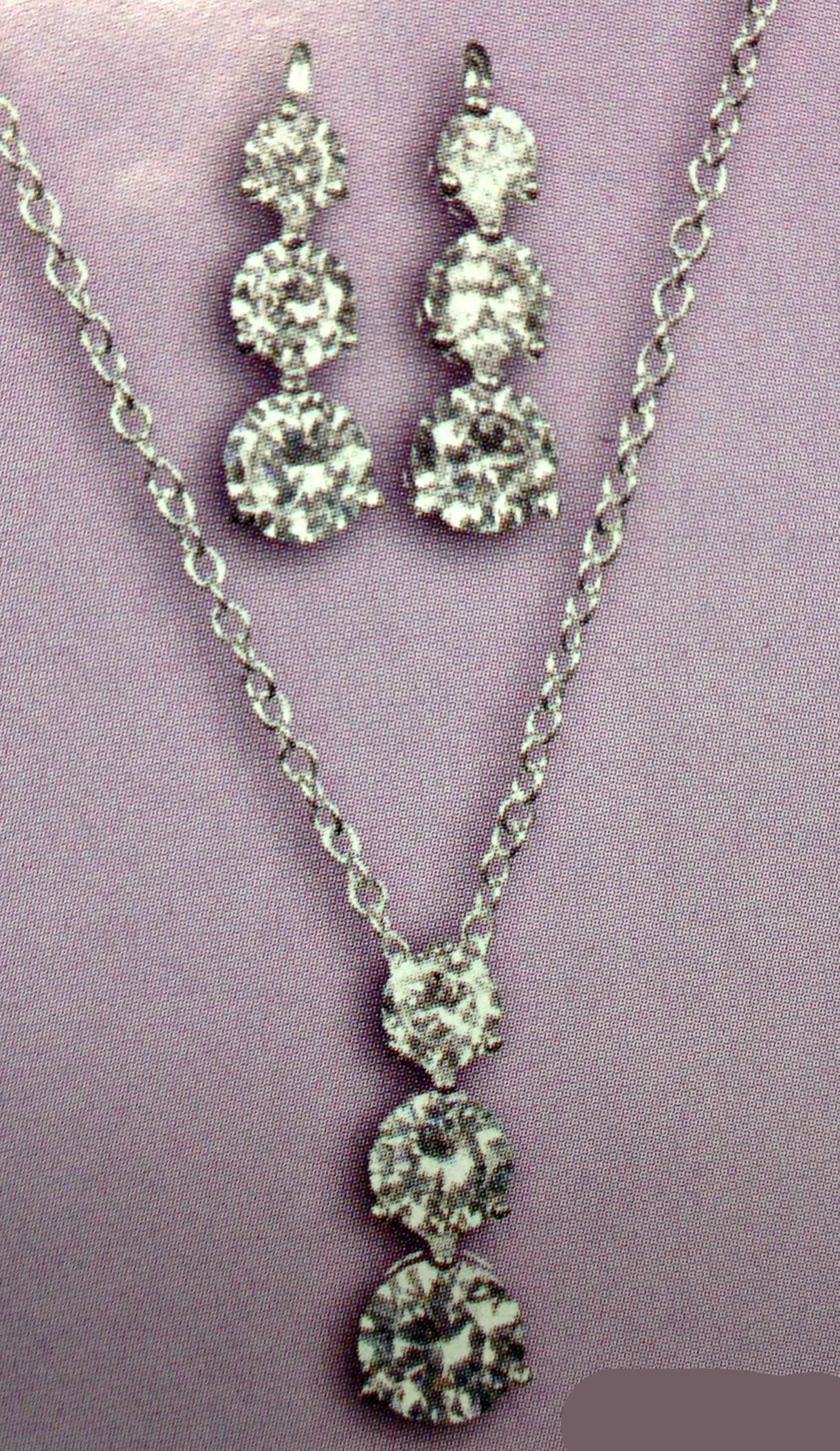 Available at Spotlight Formal Wear- Jewelry set