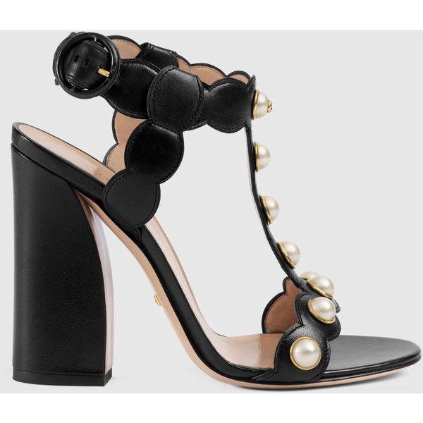 e6920ea060a Gucci Leather T-Strap Sandal ( 1