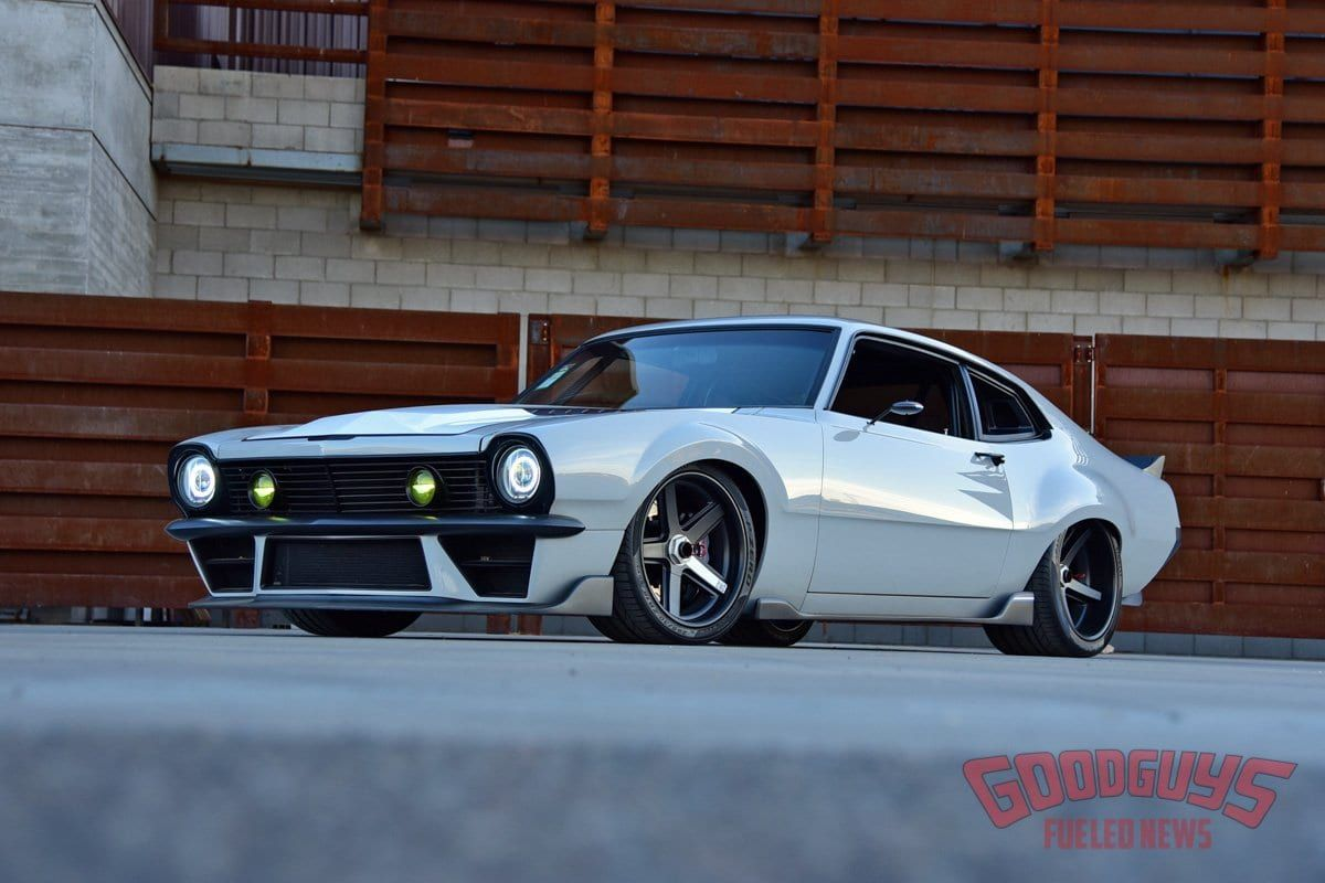 Built For Speed Jimmy Shaw S Twin Turbo Ford Maverick Ford