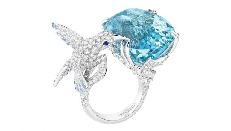Exceptional colored gemstones were in high demand at the annual fair…