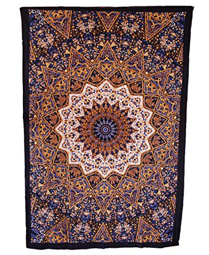Handicrunch Hippie Star Wall Hanging Tapestry Brand New Lovely ...