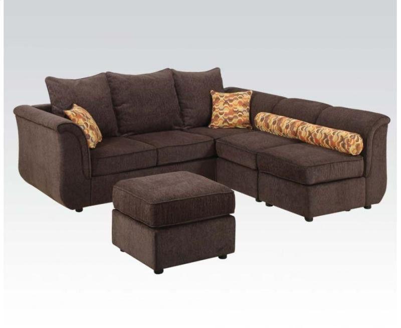Caisy Chocolate Sectional Sofa
