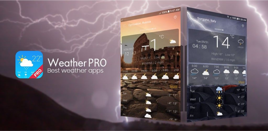 Weather (No Ads) v4 1 Full Unlocked Paid APP Download Free