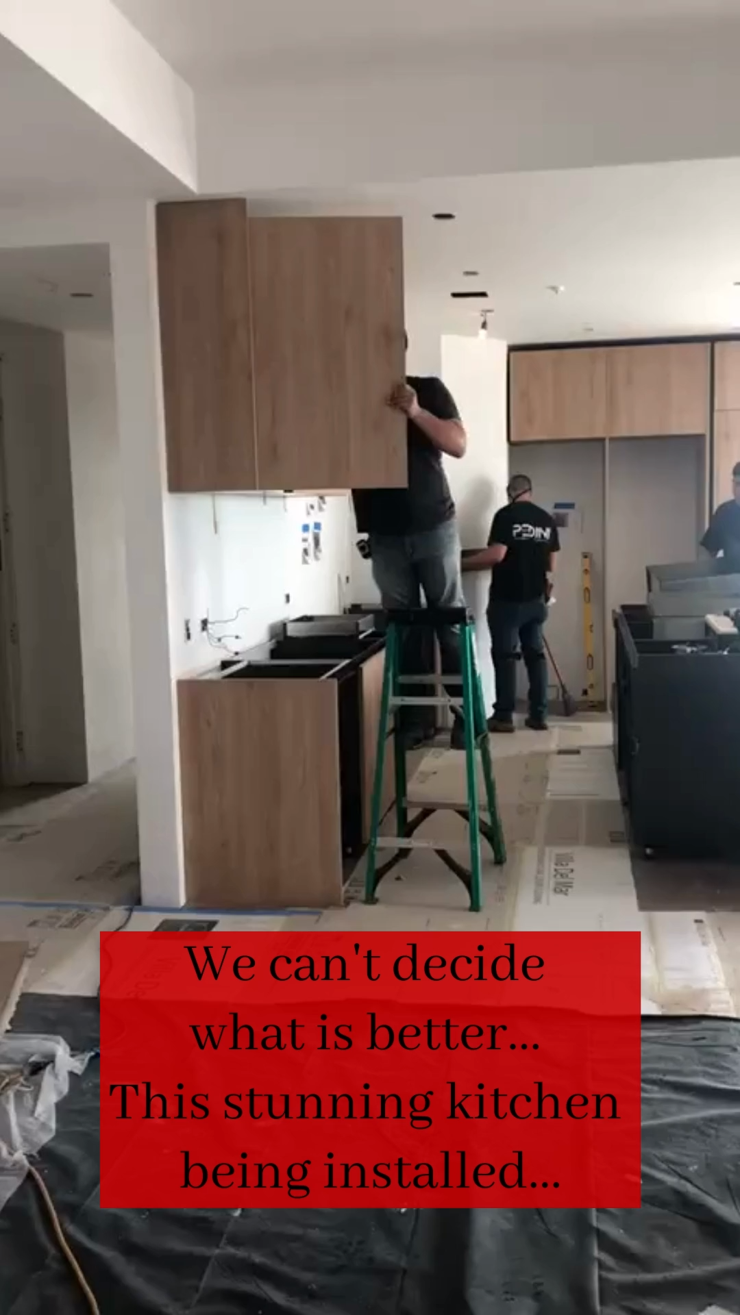 Kitchen install progress with a STUNNING view. #kitchendesign #moderndesign #modernhome #kitcheninspo #kitchengoals #kitchencabinets #kitchendetails #interiordesigner #interiordesigncontemporary #kitchenisland #renovationwork #dreamhomeinteriors #dreamhometoreality #homedesignideas #homedesigners #interiordesigncommunity #luxuryhomedesign #interiordesignlovers #customhome #waterfallisland #pedinila #pedinikitchens #lastyle #lalife #italiandesign #italiandesigner #italiandesignusa