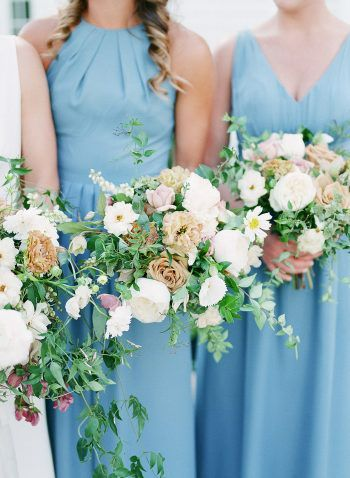 This Ryland Inn Coach House Wedding Has Blooms from the Brides Own Flower Farm!