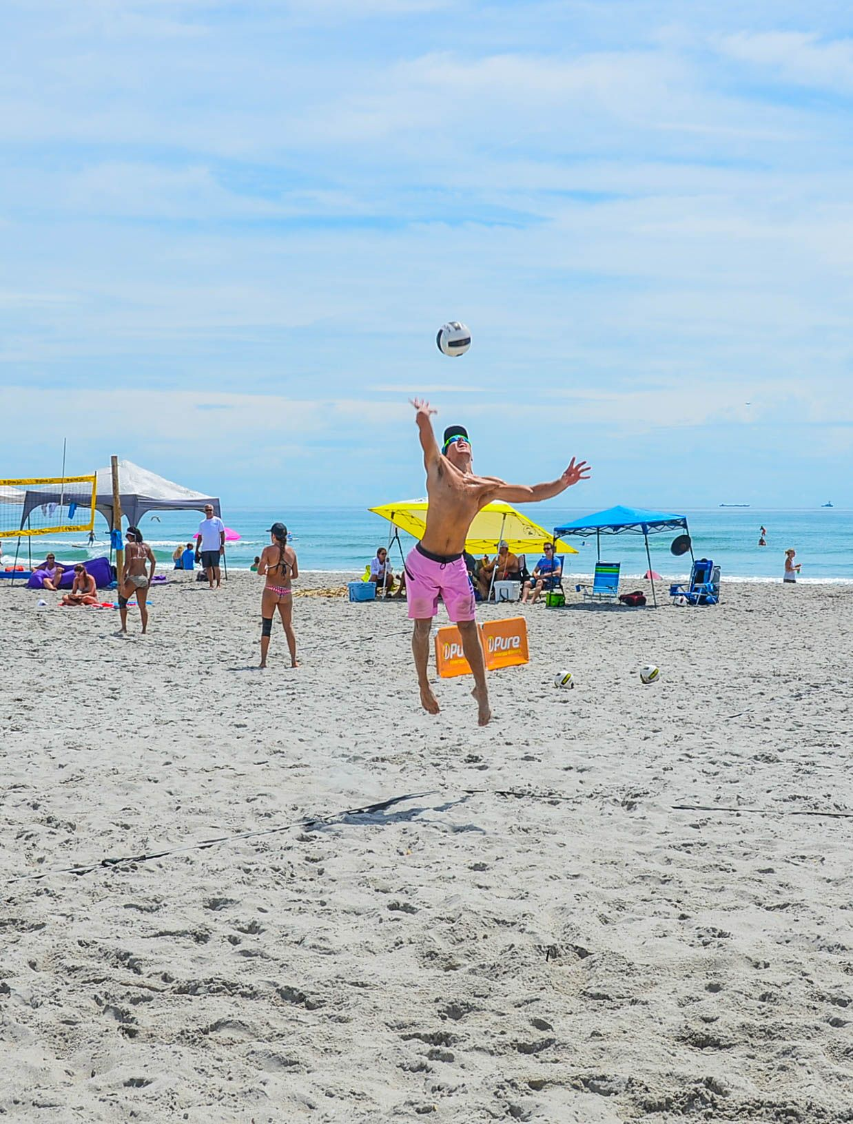 Tournament With This One Doubles Florida Beachvolleyball 1stplace Beach Volleyball Volleyball Florida