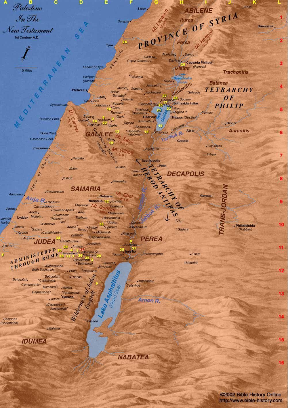 Biblical World in First Century AD