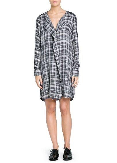 Koszulowa sukienka w kratkę - kupić czy nie kupić - oto jest pytanie?;)