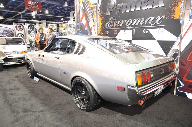 Late 70 S Toyota Celica At The Primax Euromax Design Booth Sushi