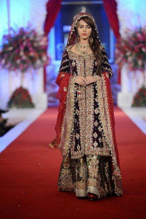 Latest Pakistani Wedding Dresses 2016 Clothes