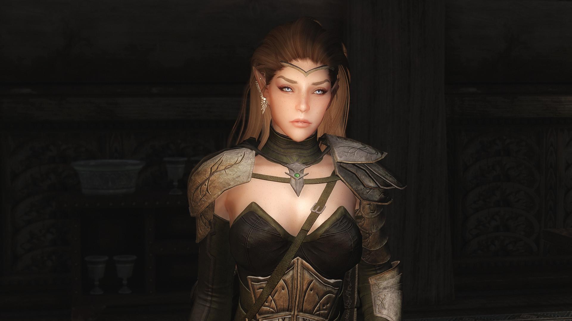 Actually Attractive Elves for Racemenu at Skyrim Nexus