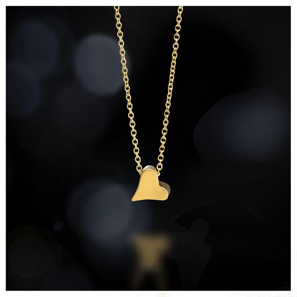 heart bead necklace, 18k gold - Dogeared #dogeared #sharethehappy