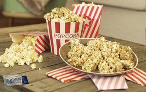 Müsliriegel mit Popcorn