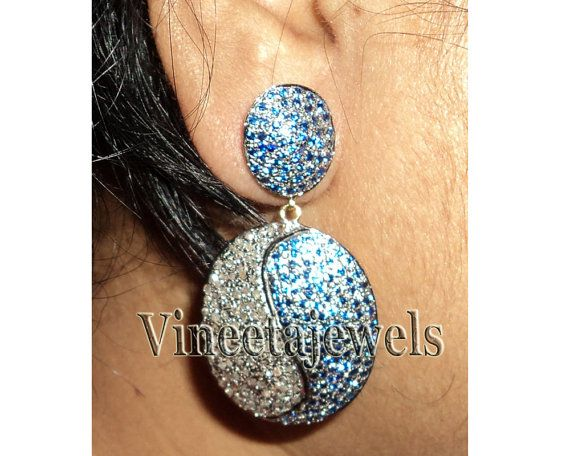 Latest Victorian Style .925 Silver Diamond jewelry  by Dhirendra Singh on Etsy