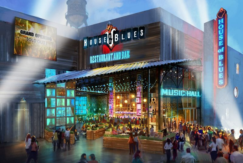 House Of Blues Anaheim Opens New Flagship Venue At Garden Walk