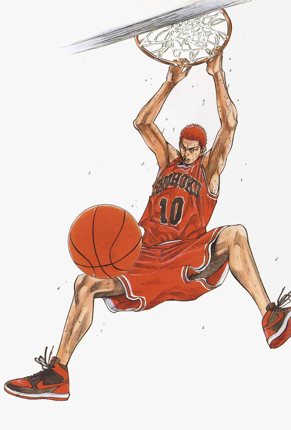 Art of Slam Dunk Slam dunk manga, Slam dunk anime, Slam dunk