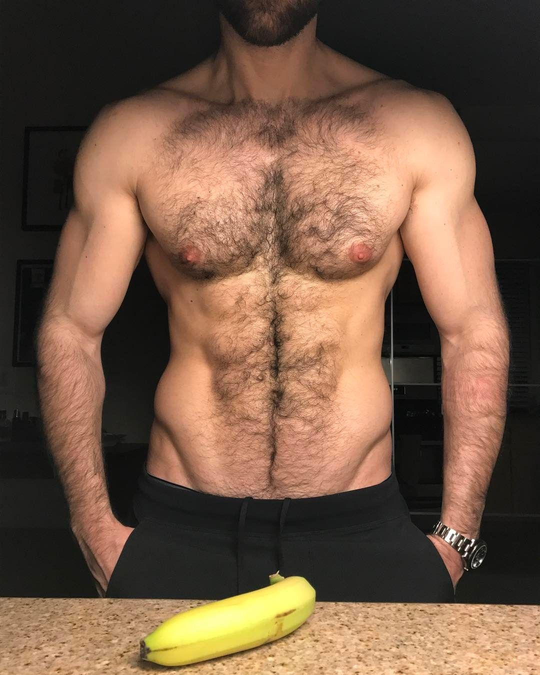 If he's hot and hairy, that works for me. Warning: This blog is not.