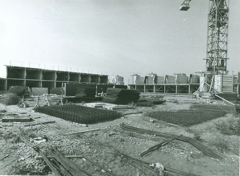 Izgradnja bloka 45