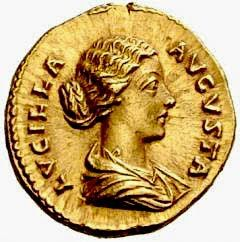 148 Lucilla, Rome, Roman noblewoman (daughter of Marcus Aurelius and sister of Commodus) (between 148-150 AD), born in Rome