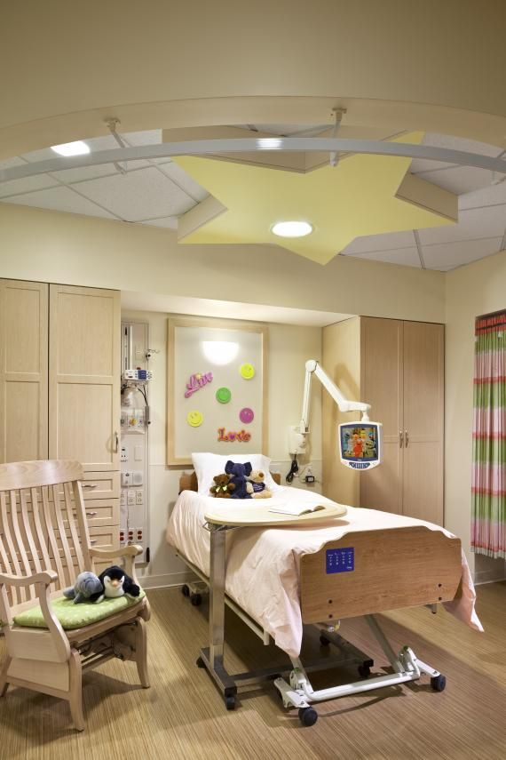 Single resident room, Elizabeth Seton Pediatric Center, Yonkers ...