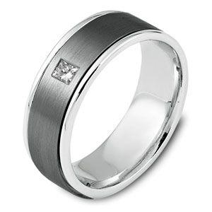 mens diamond wedding band Ring for men Pinterest Diamond
