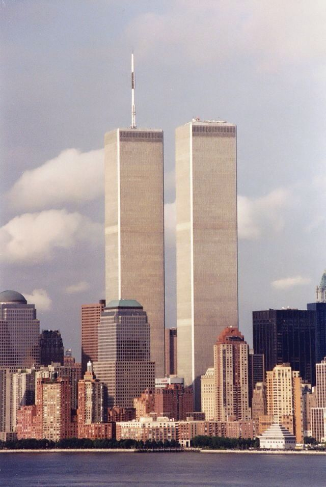 Twin Towers New York Been On The Top Floor Twice