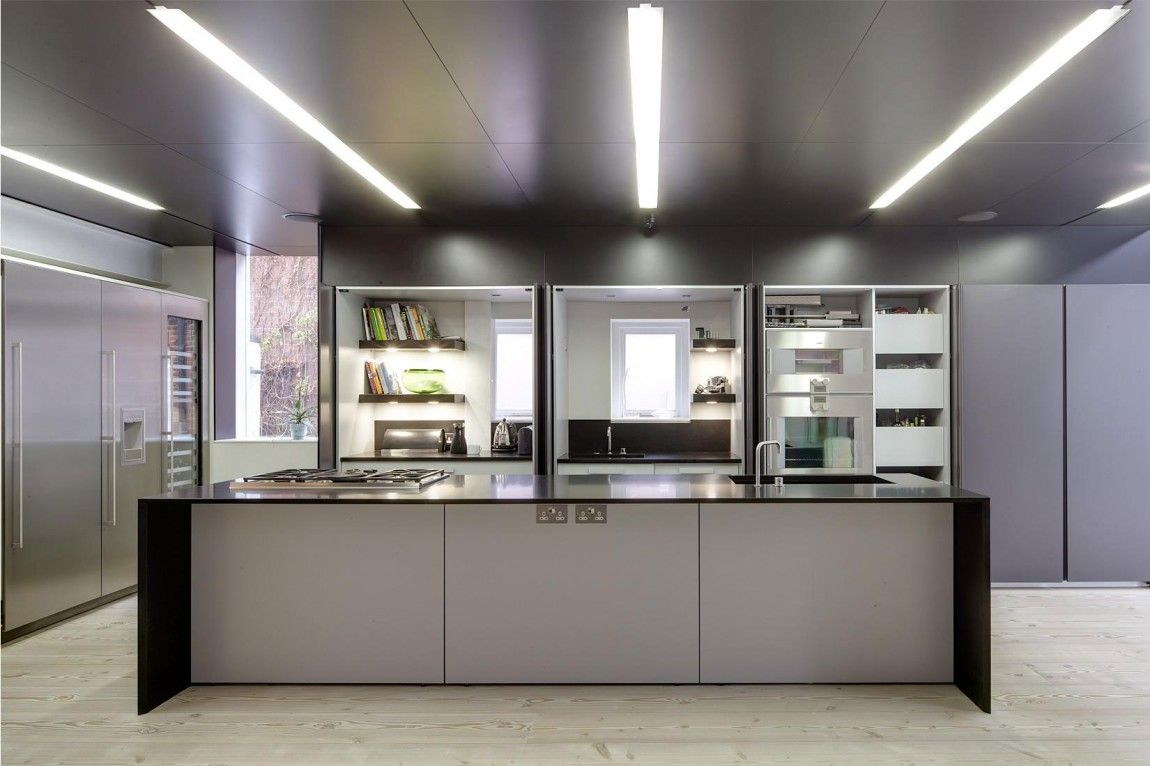 Line House in London | London england, Space photos and Kitchen design