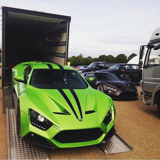 Zenvo ST-1's Stunning Colour !!! TuningCult.com For All