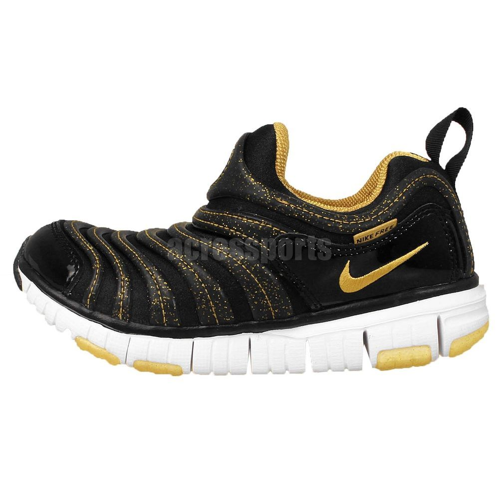 Casual shoes · Nike Dynamo Free PS Black Gold Preschool 2015 Boys ...