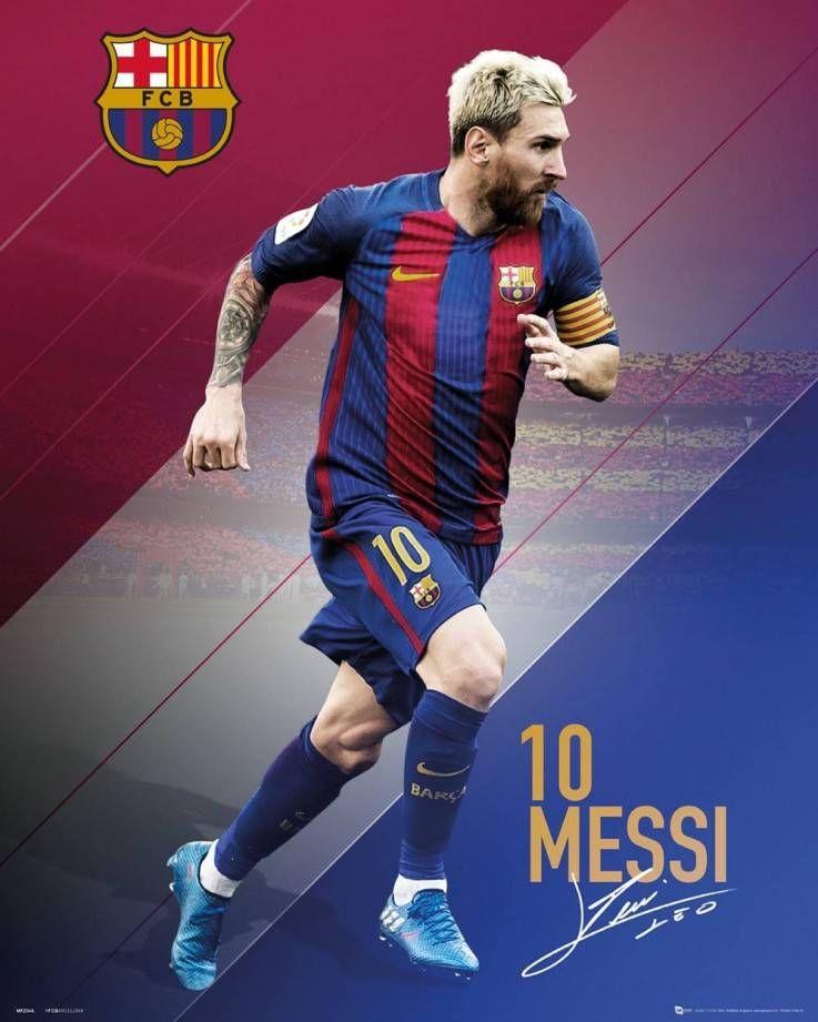 Barcelona Messi 16/17 Mini Poster Messi poster, Lionel
