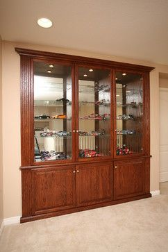 Pacific Coast Custom Design Built In Niches Display Cabinet Lights Gl And Shelving
