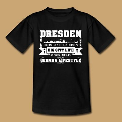 DRESDEN - SACHSEN - 1.2.1 T-Shirt | Creative Media Impressions