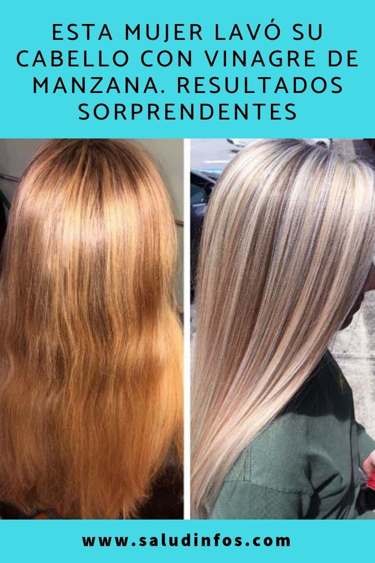 Rechazado labios no pueden ver  ESTA MUJER LAVÓ SU CABELLO CON VINAGRE DE MANZANA. RESULTADOS SORPRENDENTES  #LAVÓ #CABELLO #VINAGRE | Alopecia, Long hair styles, Hair styles