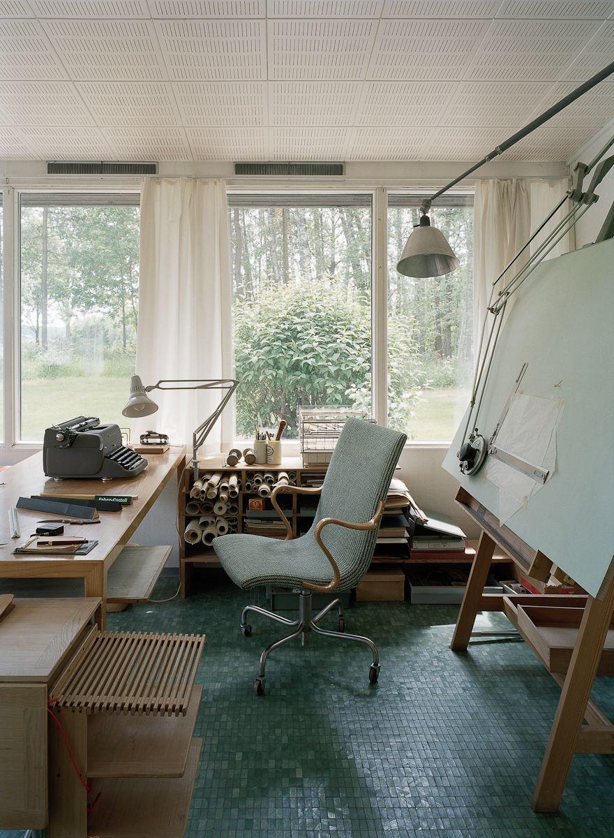 Alvar aalto house interior södra kull bruno mathsson  lindman photograhpy  architecture