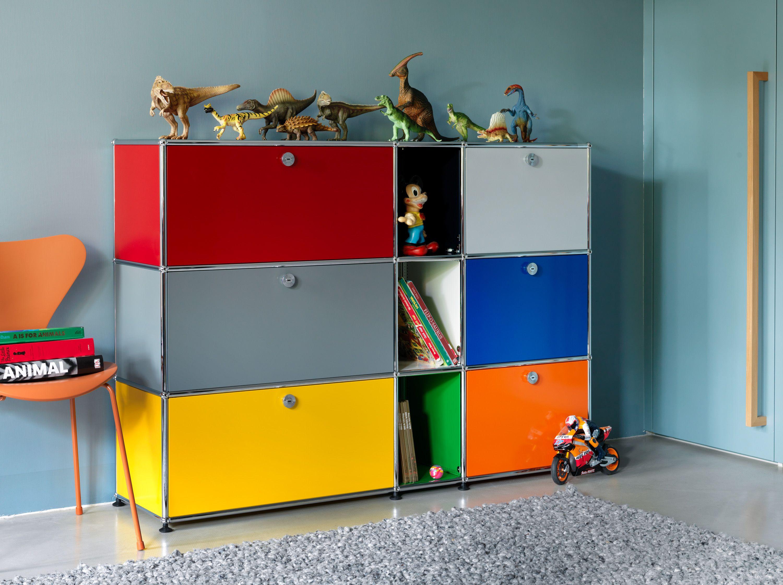 meuble de rangement usm haller coloris mixtes chambre coucher inspirations usm. Black Bedroom Furniture Sets. Home Design Ideas