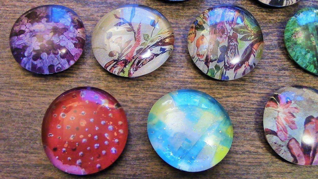 Craft Time Easy Diy Glass Pendants Using Dollar Tree